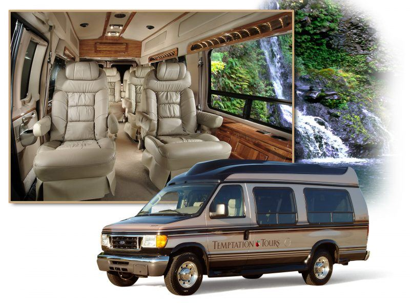 Luxury Limo Van Temptation Tours Maui
