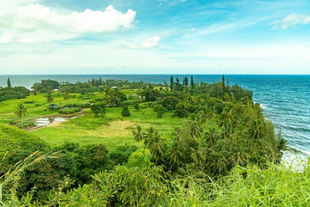 Keanae Peninsula Overlook Road to Hana Maui