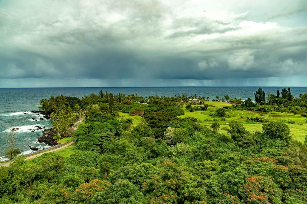 Keanae Peninsula Overview Road to Hana Maui