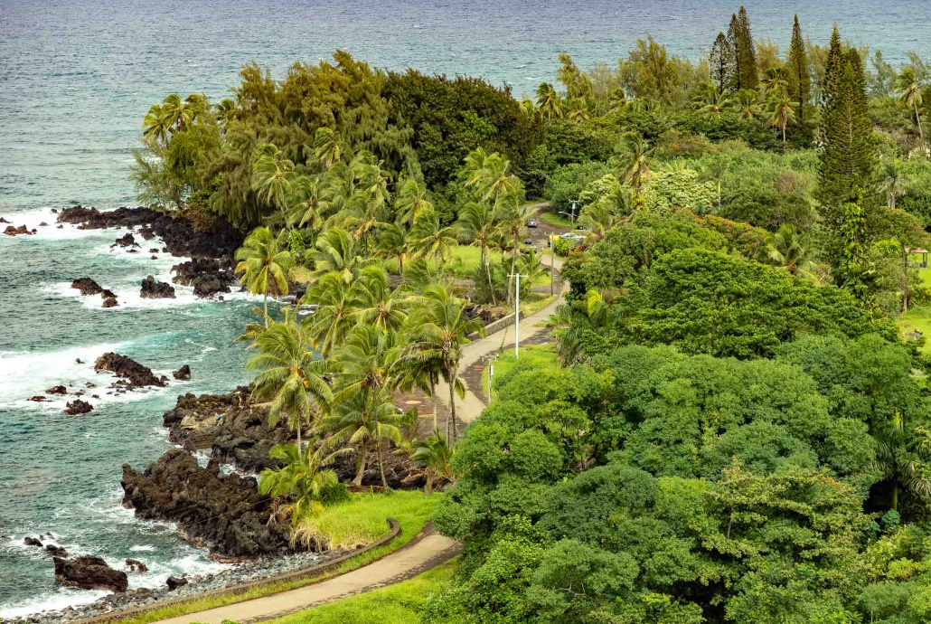 Keanae Peninsula Winding Road to Hana Maui