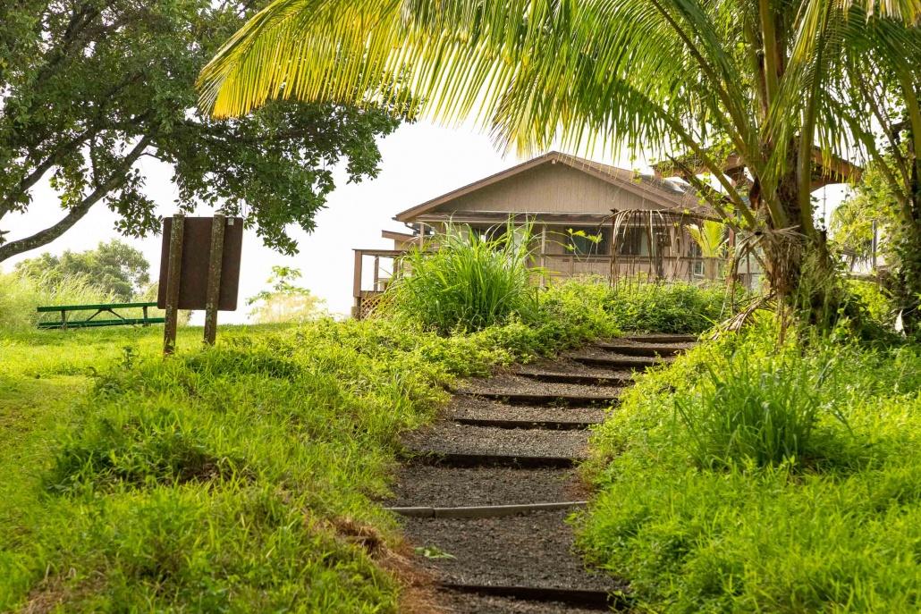 Pools of Oheo Path to Visitor Center Kipahulu road to Hana Maui