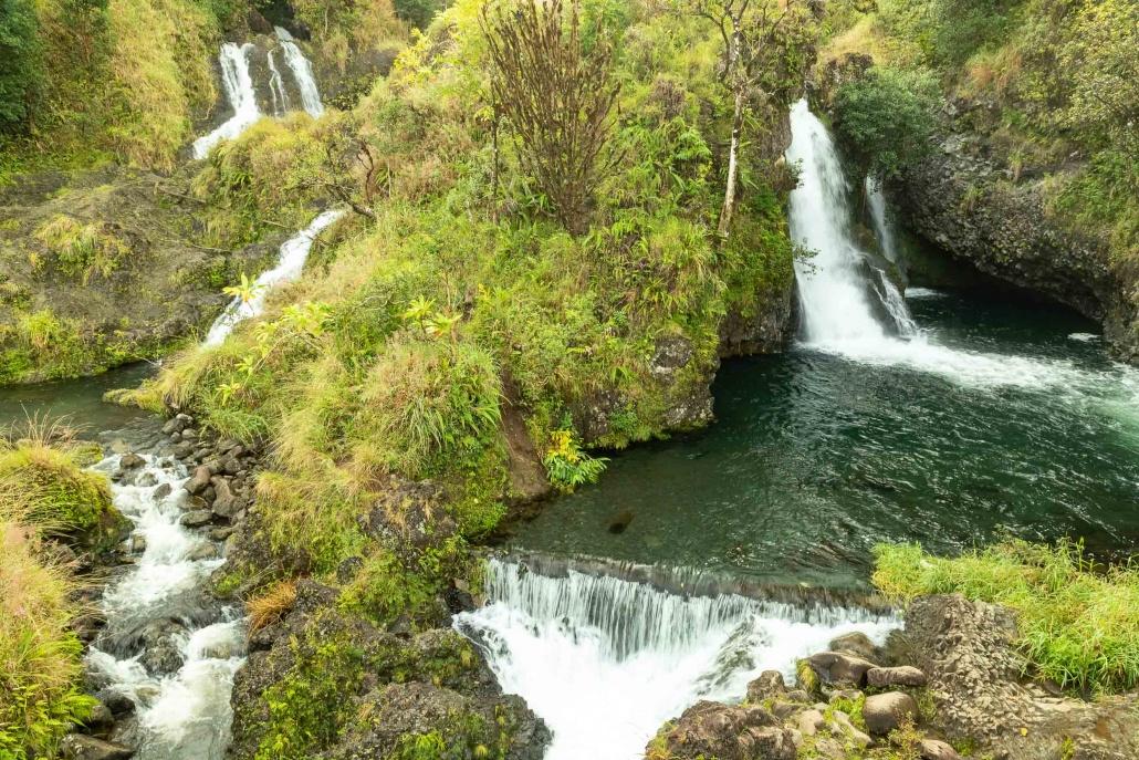 Road To Hana Multiple Watefalls Maui