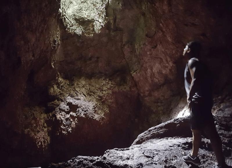 Hana Cave Skylight
