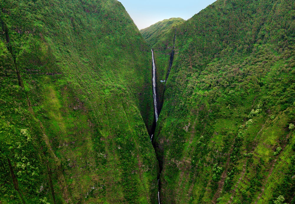 Helicopter Waterfall