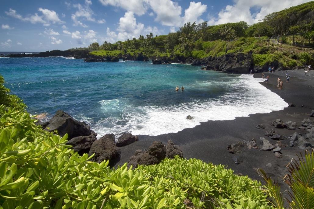 Black Sand Beach Maui Private Tour