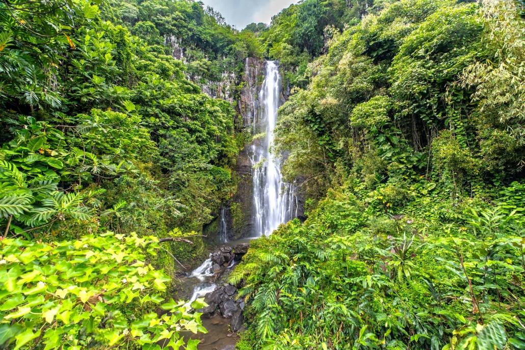 Holo Holo Maui Waterfall Wailua