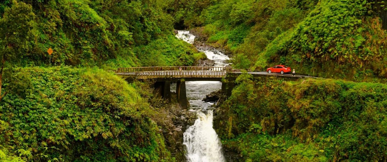 Wailua Iki Falls Hana Bound Tour