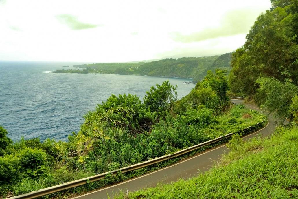 another spectacular overlook along Hana highway Maui