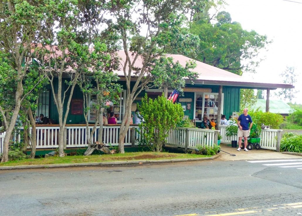Upcountry food and restaurants along road from Hana